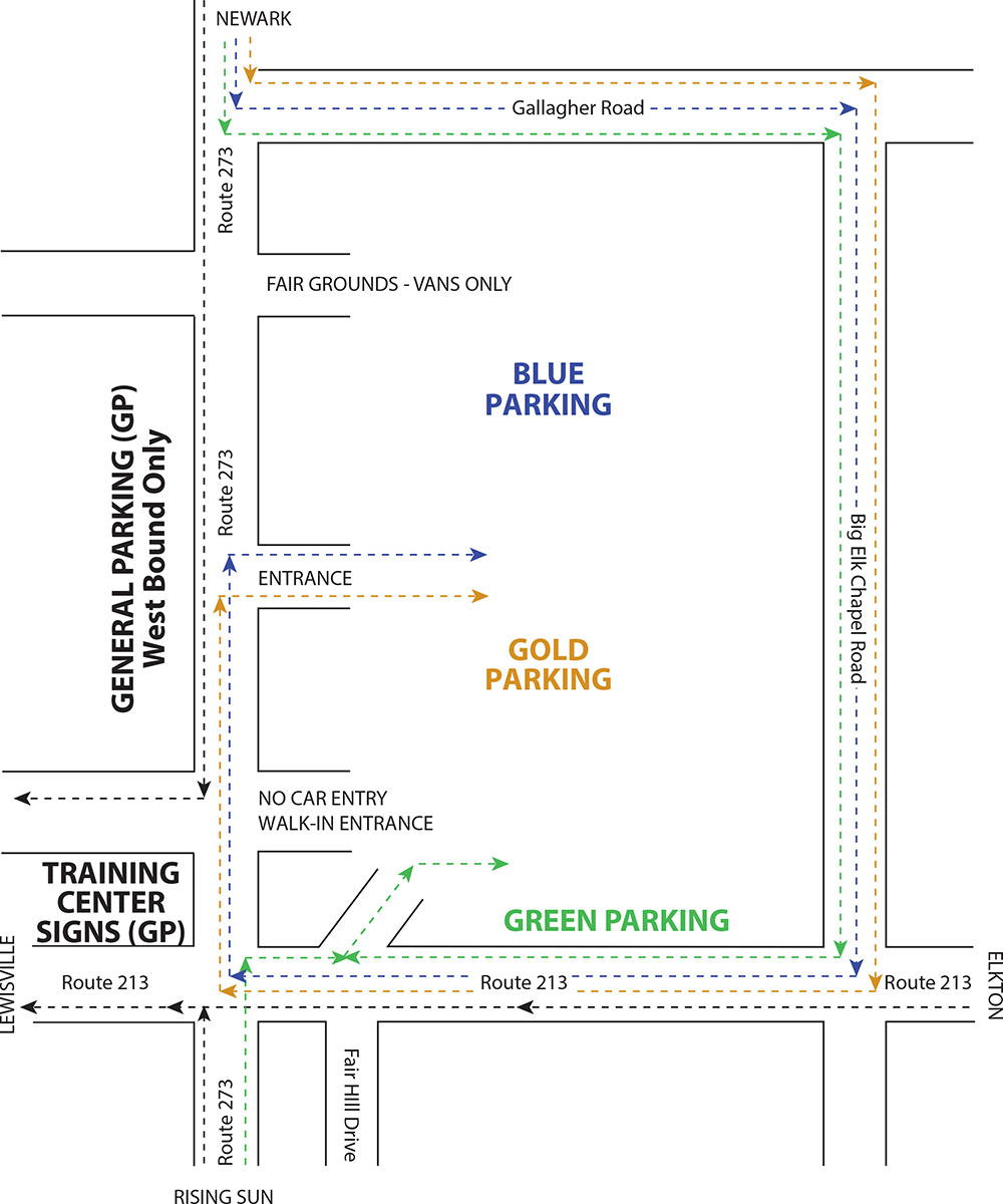 FHR Parking Map-1
