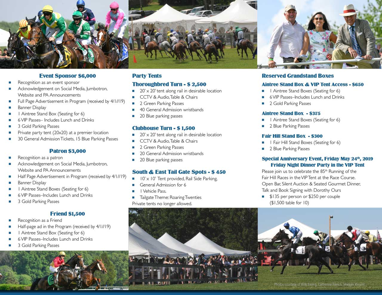 Fair Hill Races Brochure